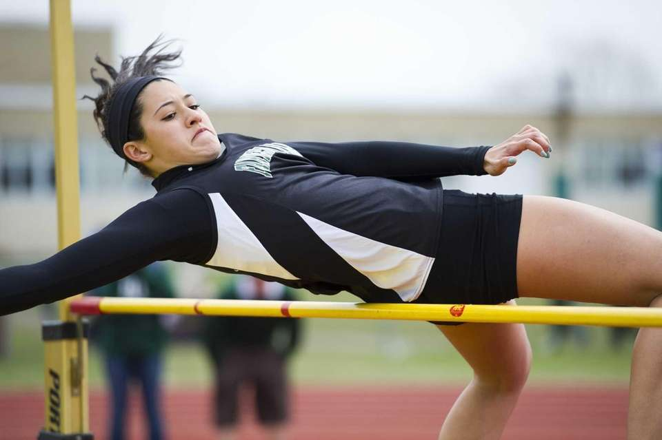Christina Vargas of Farmingdale finishes in second place