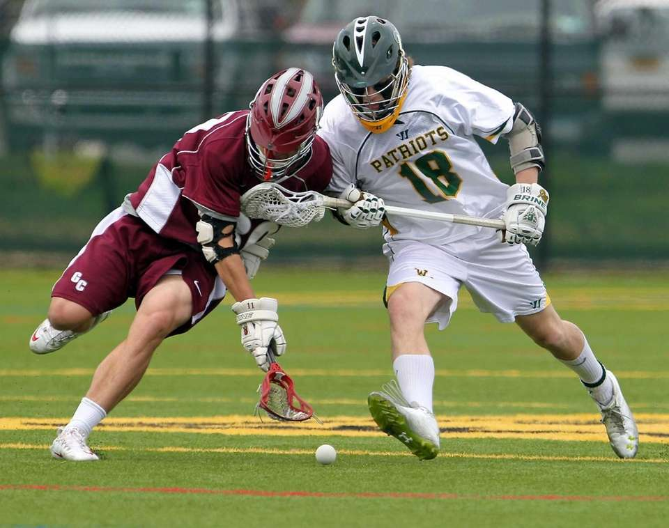 Garden City's James Sullivan and Ward Melville's Jack