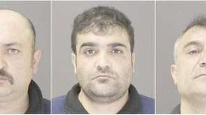 Yalcin Nergiz, 41, left, Yuniz Ozturk, 33, center,