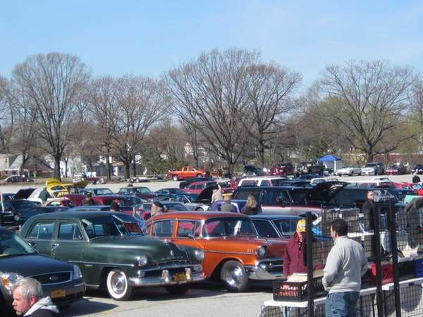About 800 cars were on display at the
