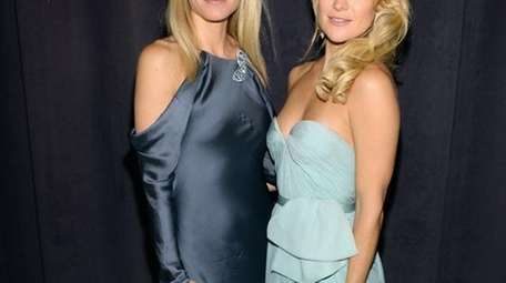 Gwyneth Paltrow and Kate Hudson attend the Tiffany