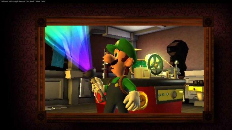 Luigi's Mansion: Dark Moon, from Nintendo, features Mario's