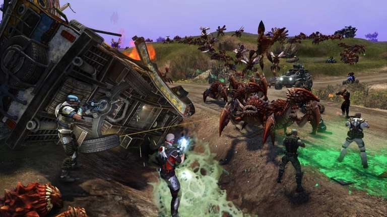 This video game image released by Trion Worlds