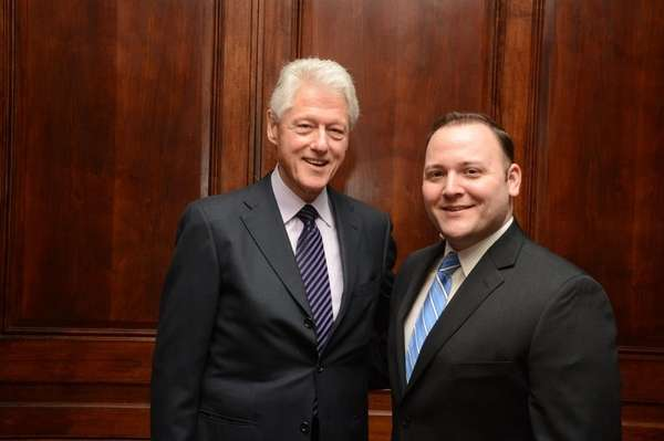 Bill Clinton with David Fried in this photo