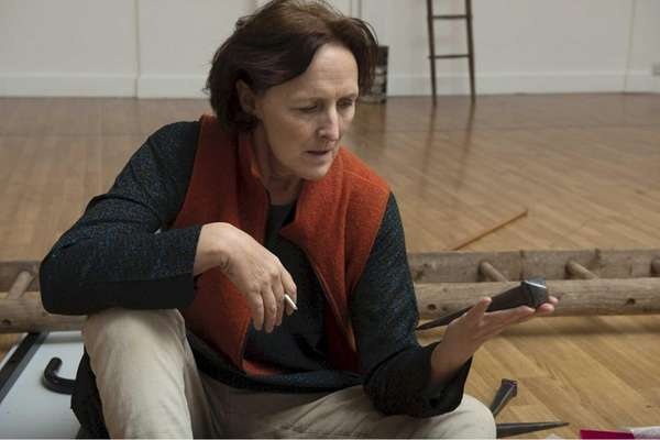 "Fiona Shaw stars in ""The Testament of Mary,"""