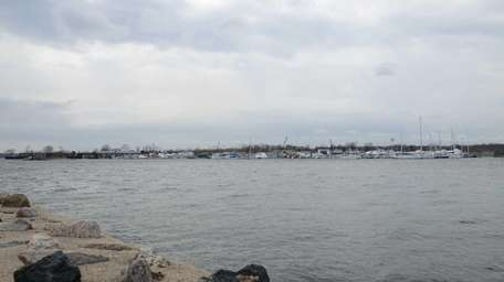 A view of the Manhasset Bay from Port