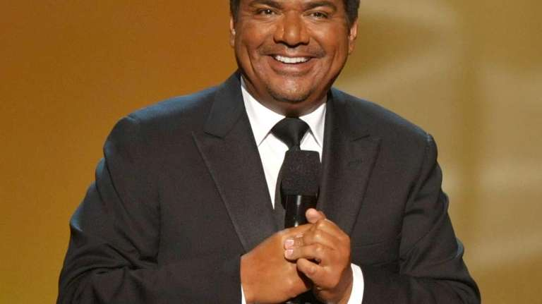 Host George Lopez speaks onstage at the ALMA