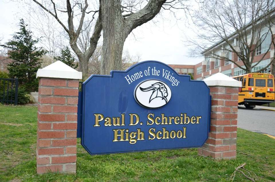 The field at Paul D. Schreiber High School,