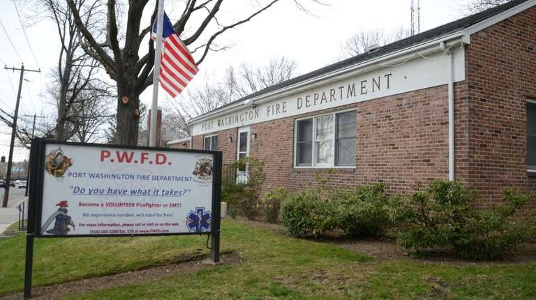 The headquarters for the Port Washington Fire Department,