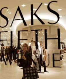 Saks Fifth Avenue on Boylston Street in Boston