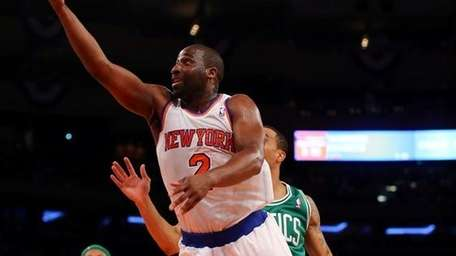 Raymond Felton is key to a Knicks win.