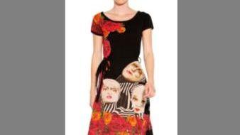 Desigual's Cirque du Soleil-inspired Zarinne dress, in all-cotton,