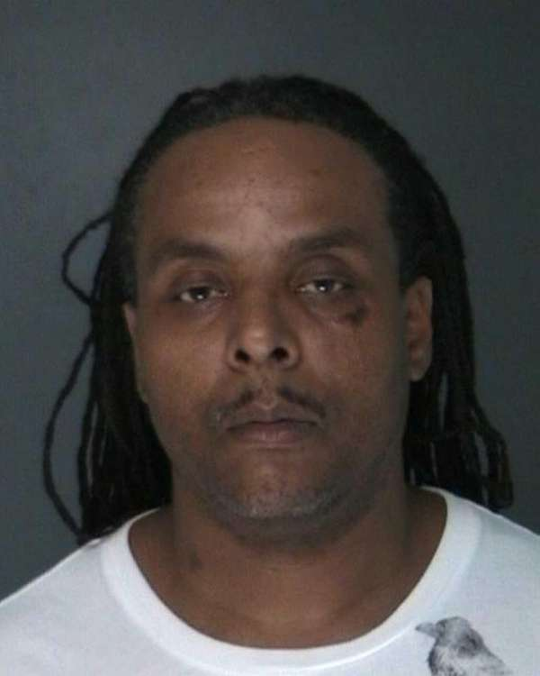 David Thomas, 45, was pulled over for traffic