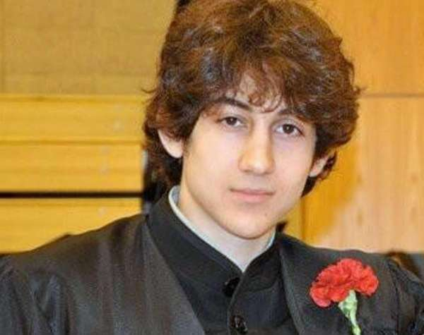 Dzhokhar Tsarnaev poses for a photo after graduating