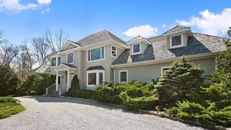 This East Hampton home was on the market
