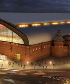 This artist's rendering provided by the New York