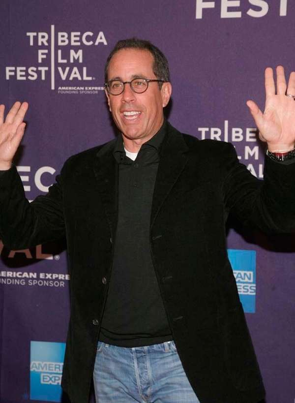 "Comedian Jerry Seinfeld attends the ""Kiss The Water"""