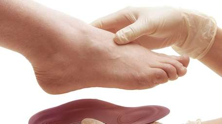 Studies have shown that over-the-counter insoles, inserts and