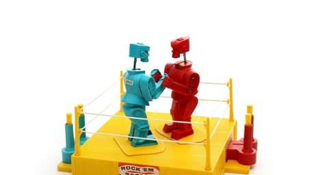 Rock 'em Sock 'em Robots It's the toy