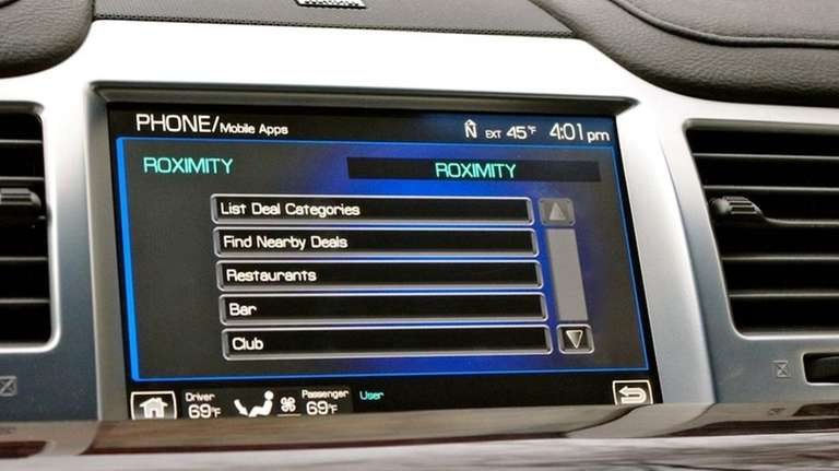 Ford's ROXIMITY application allows drivers to find nearby