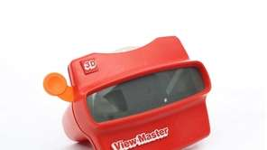 View-Master Although introduced in the 1930s, it wasn't