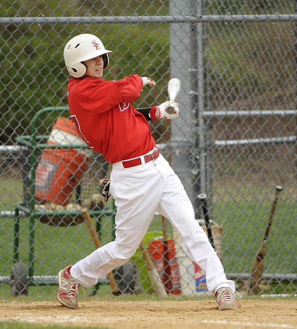Smithtown East's James Meyers follows through on his