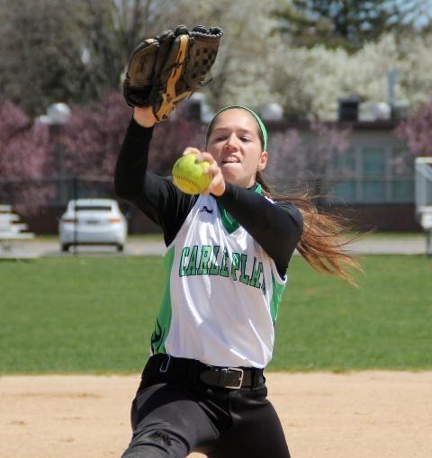 Kaitlyn Davis of Carle Place softball.