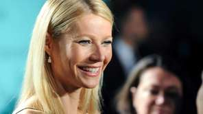 Gwyneth Paltrow attends the Tiffany & Co. Blue