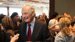 Alan Alda being honored at an event at