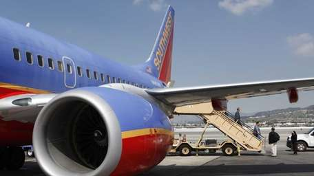 The average passenger fare on Southwest, which reported