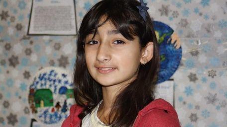 Chiara Pantano, a fifth-grader at Waverly Park Elementary