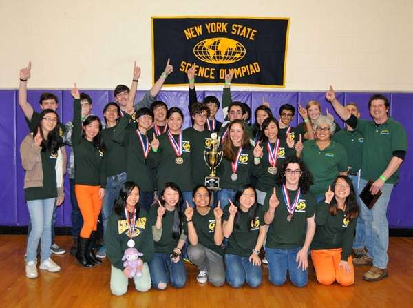 A team from Ward Melville that won the