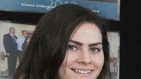 Briana Shortell, a senior at Patchogue-Medford High School,