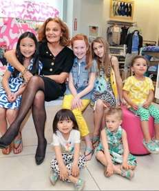 Diane von Furstenberg celebrates the launch of GapKids