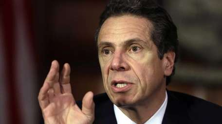 New York Gov. Andrew M. Cuomo. (April 16,