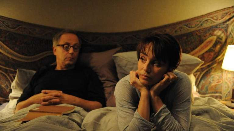 Fabrice Luchini and Kristin Scott Thomas in a
