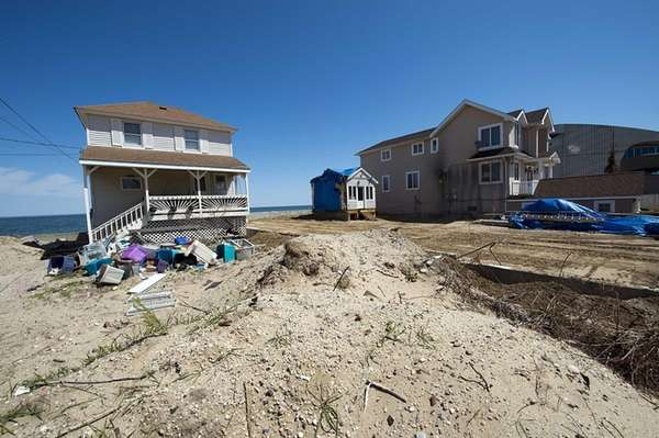 Six months after superstorm Sandy, debris still lingers