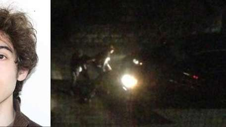 Left, Dzhokhar Tsarnaev, suspect in the Boston Marathon
