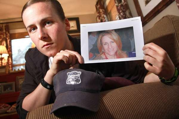 Boston Police officer Shana Cottone, a Long Island