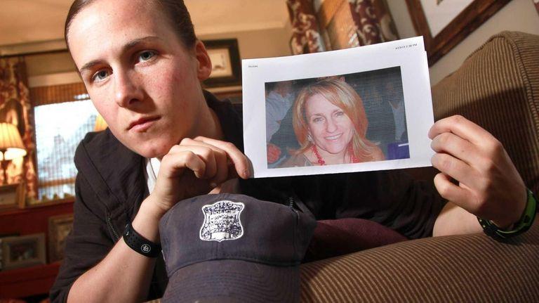 Boston Police officer Shana Cottone, a Long Island