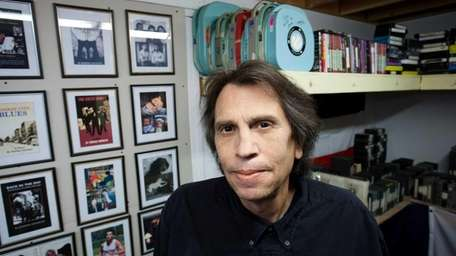 Writer and director Marino Amoruso in his office