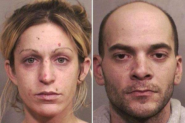Megan Yanolatos, 31, of Bellmore, and her boyfriend,