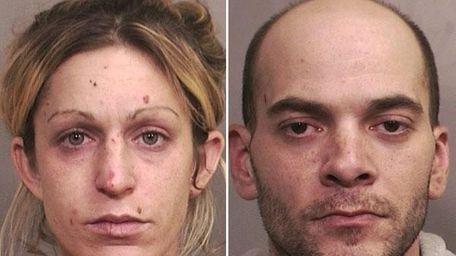 Megan Yanolatos, 31, of Bellmore, and her boyfriend,