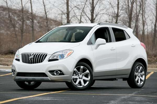 The 2013 Buick Encore starts around $25,000 and