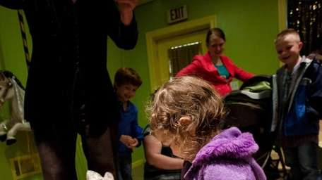 Donna Correa, puppeteer and owner of the Little