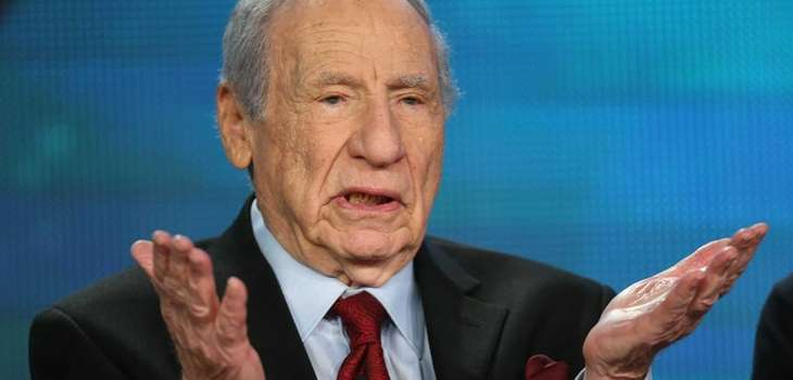 Actor/Director/Writer Mel Brooks speaks onstage during the PBS