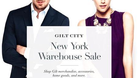Gilt City Warehouse Sale.
