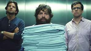 From left, Bradley Cooper as Phil, Zach Galifinakis