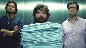 From left, Bradley Cooper as Phil, Zach Galifinakis