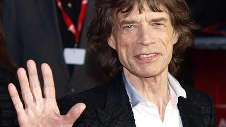 Mick Jagger arrives for the premiere of